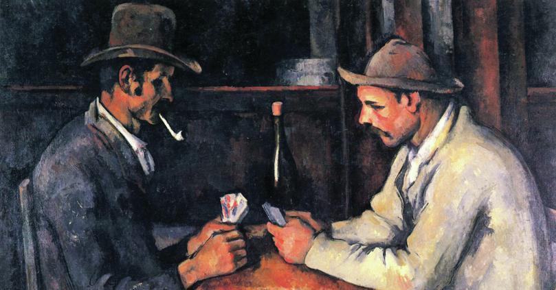 Les Joueurs de Carte (Card Players): Paul Cézanne, Courtauld Institute of Art