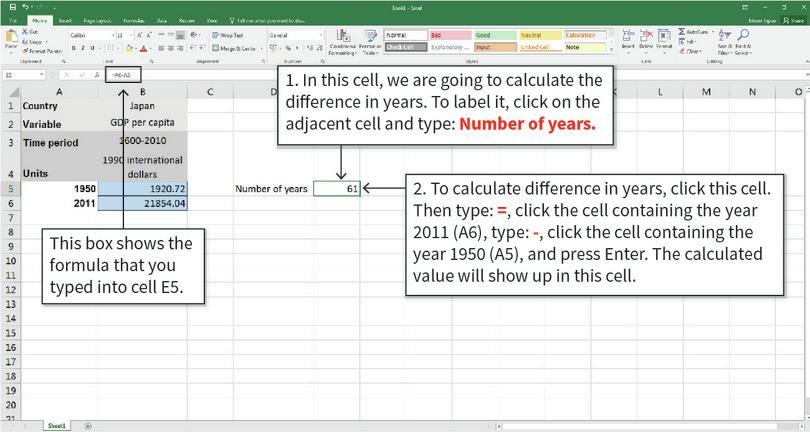 Draw a column chart : Your column chart will look similar to the chart shown above, with income on the vertical axis and decile number (1 to 10) on the horizontal axis.