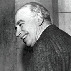 Portrait de John Maynard Keynes