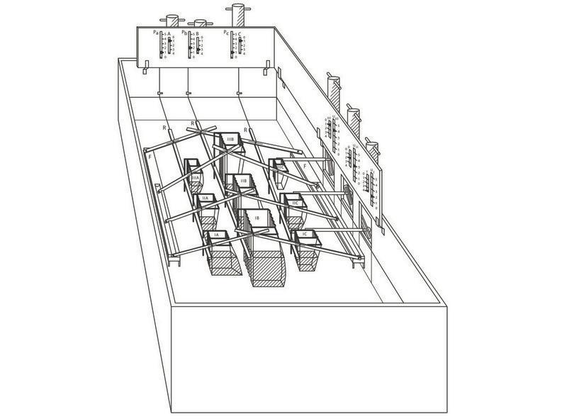 Il modello idraulico di equilibrio economico di Irving Fisher (1891).