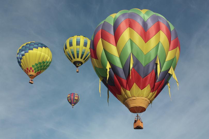 25th Annual Sonoma County Hot Air Balloon Classic: Sean Freese, https://goo.gl/ET1nEi, licenza CC BY 2.0